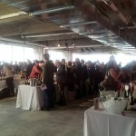 Guests enjoy a variety of wines from France's Bordeaux region