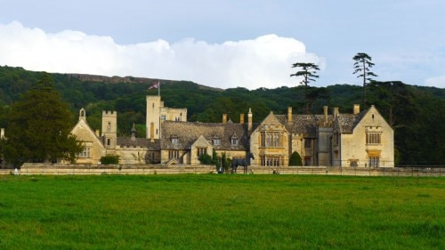 The exterior of Ellenborough Park in the Cotswolds