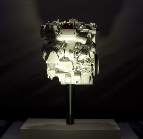 engine 500x486 Volvo Introduces New Drive E Powertrains    Car News