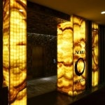 The entrance of Nobu Hotel within Caesars Palace in Las Vegas