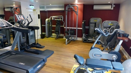 The fitness room at Ellenborough Park