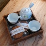 Nobu Hotel's signature green tea welcome gift