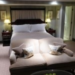A luxury room in the Main House at Ellenborough Park