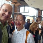La Brea Bakery founder Nancy Silverton with Alain Gayot