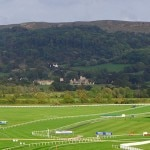 A view of Ellenborough Park from Cheltenham Racecourse