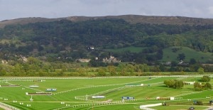 racecourse ellenborough park 300x155 A view of Ellenborough Park from Cheltenham Racecourse