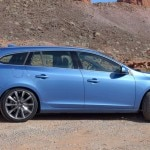 The Volvo V60 with Drive-E technology