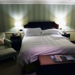 A guest room in Woodland Court at Ellenborough Park