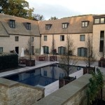 The pool at Woodland Court at Ellenborough Park