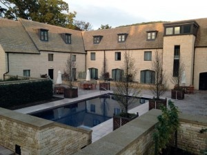 woodland court pool 300x225 The pool at Woodland Court at Ellenborough Park