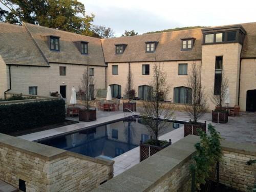 The pool at Woodland Court at Ellenborough Park