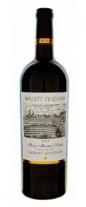 barnett cabernet sauvignon 125x300 Barnett Vineyards 2003 Spring Mountain Cabernet Sauvignon   Wine of the Week Review