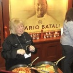 Mario Batali's booth