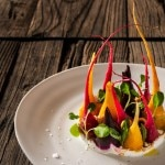 Baby Beets with Yogurt