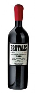 2010 Vidigal Wines Brutalis, Lisboa, one of the vintages selected at the Fifty Great Portuguese Wines Tasting