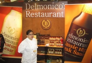Delmonico's booth at the Fancy Food Show (Credit: Kristan Lawson)