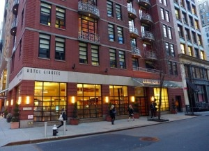 exterior1 300x218 The exterior of Hotel Giraffe in New York City