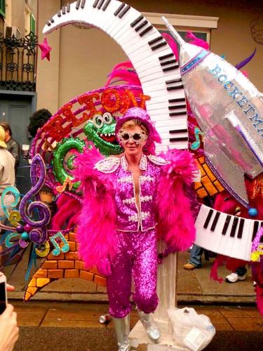 Rocketman Mardi Gras