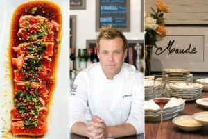 Crispy tuna (Thé Cool @ Berri's Café), Chef Brian Malarkey (Herringbone at the Mondrian), Maude by chef Curtis Stone