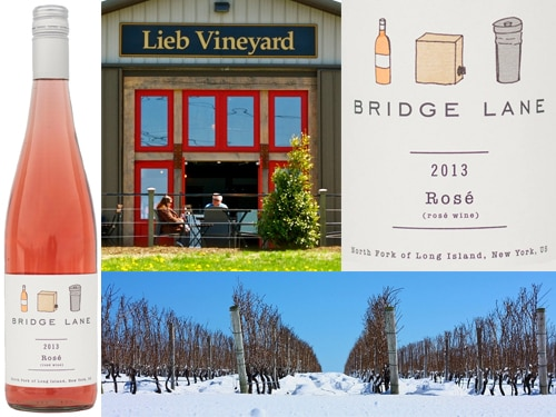 bridge lane rose Lieb Cellars 2013 Bridge Lane Rosé   Wine of the Week Review