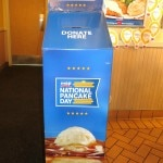 donation box 150x150 National Pancake Day at IHOP
