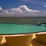 The infinity pool at Hyatt Regency Trinidad