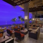 The lobby terrace at Hyatt Regency Trinidad