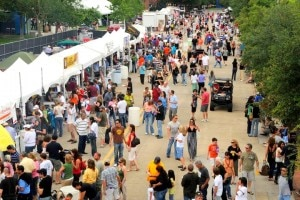 View of the crowd at Taste Addison 2010  (Credit: Addison Special Events Faceook page)