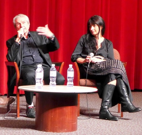 Claude Lelouche and Valérie Perrin