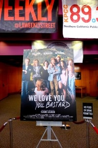 """We Love You, You Bastard"" Movie Poster at COLCOA 2014"