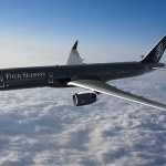 The Four Seasons private jet is a retrofitted Boeing 757