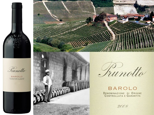 prunotto barolo Prunotto 2008 Barolo DOCG   Wine of the Week Review
