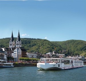 Viking Freya Longship of the Viking River Cruises fleet