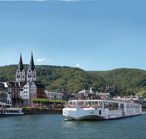 Viking Longship Freya of the Viking River Cruises fleet
