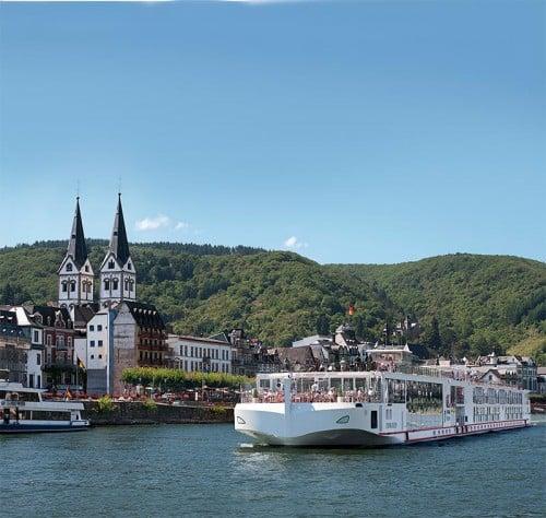 Viking Freya Longship of the Viking River Cruises fleet