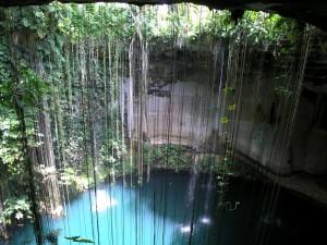 Cenote Ik Kil near Chichen Itza