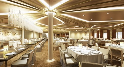 chic interior 500x269 Royal Caribbean Quantum Class Dining