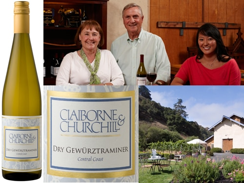 claiborne churchill Claiborne & Churchill 2013 Dry Gewürztraminer   Wine of the Week Review