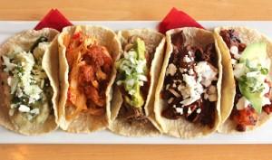Tacos at Lotería Grill