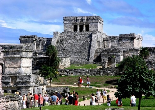 tulum ruins 500x354 Top 7 Things to Do on Mexicos Riviera Maya