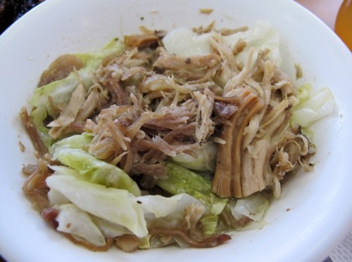 Kalua pork from Helena's Hawaiian Foods