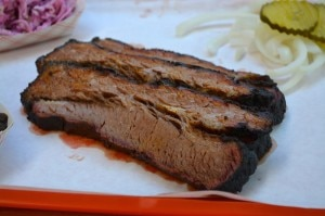 Central Texas-style beef brisket from Horse Thief in Los Angeles