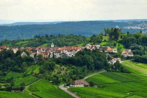 Rotenberg Village near Stuttgart