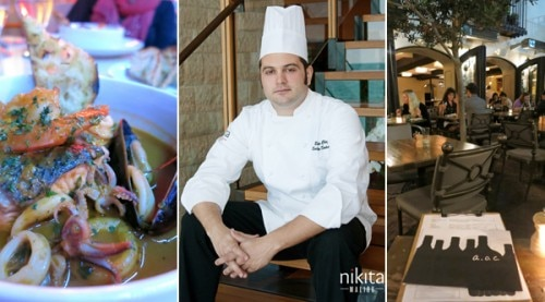 Cioppino (Ristorante al Mar), Chef Salvatore Sodano (Nikita, Malibu), A.O.C. by chef Suzanne Goin
