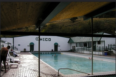 Chico Hot Springs has been attracting visitors since the late 19th century
