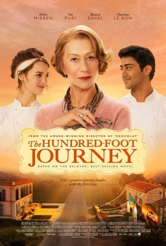 The Hundred-Foot Journey starring Helen Mirren