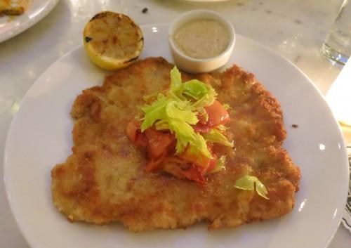 Pork schnitzel - Palihouse Courtyard Brasserie