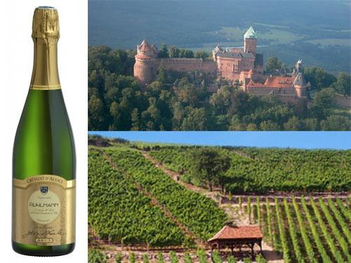 ruhlmann cremant d alsace brut 500 Ruhlmann Crémant dAlsace Brut   Wine of the Week