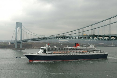 verrazano brigde new york 500x332 Crossing the North Atlantic in Style on the Queen Mary 2