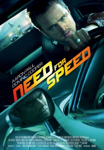 Need for Speed starring Aaron Paul and Dominic Cooper